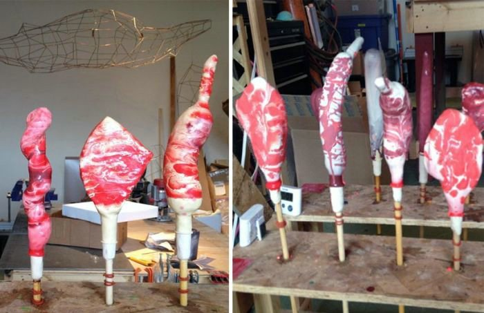 Inflatable Meat Balloons