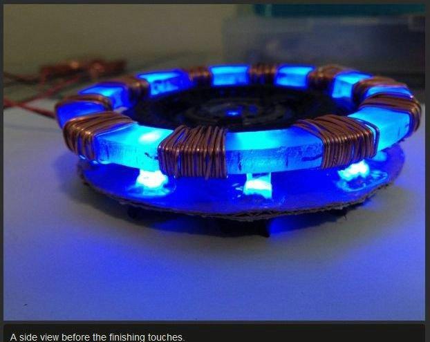DIY Iron Man's Arc Reactor