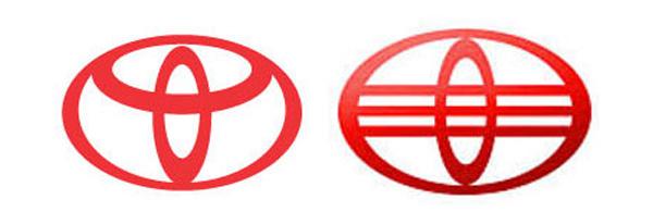 Car logos from China