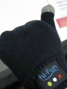 Hi-Call Bluetooth Gloves