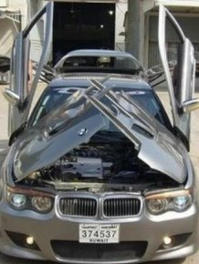 BMW with Crazy Doors
