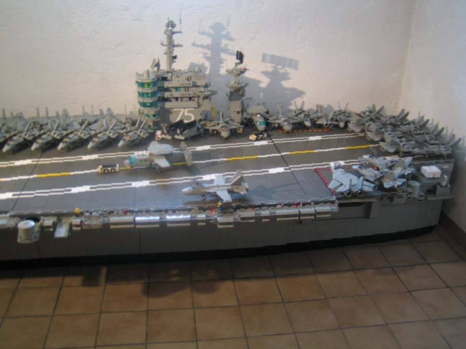 lego aircraft carriers art
