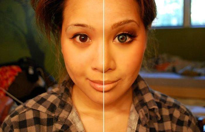 No Magic Here, Just Makeup