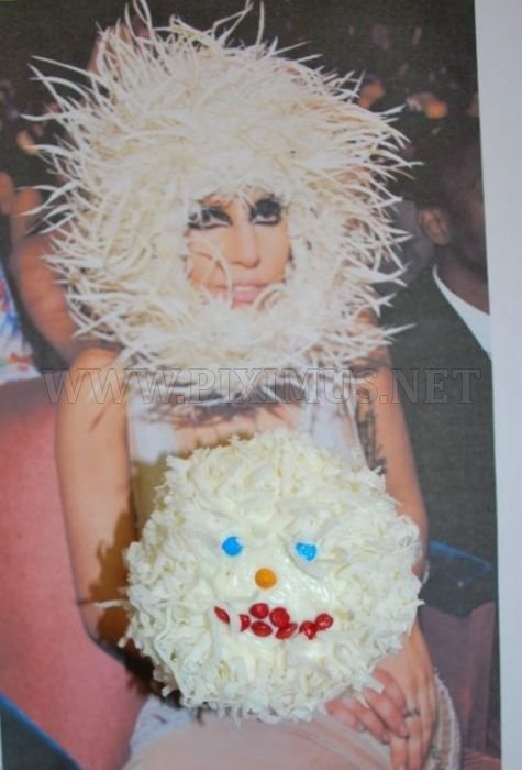 Lady Gaga Cakes