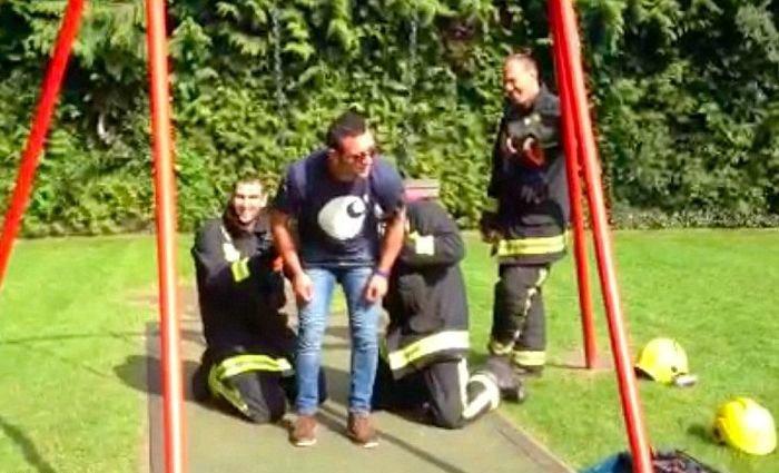 Stuck in a Swing