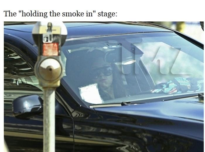 Amanda Bynes Spotted Driving and Smoking Drug Pipe
