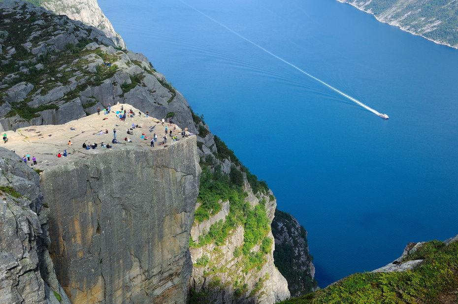 Incredible Cliff of Preikestolen