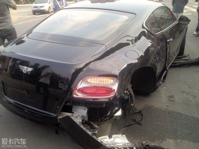 Luxury and Sports Car Wrecks