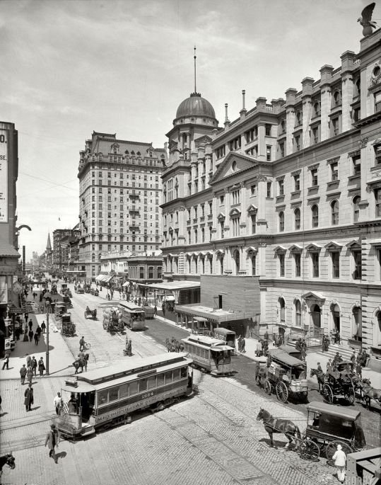 American Cities a Century Ago