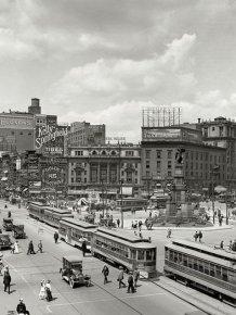 American Cities a Century Ago