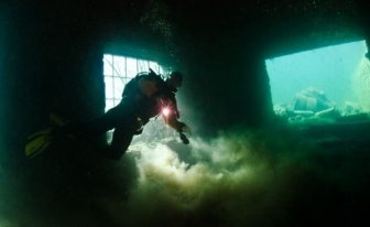 Abandoned Prison Under Water