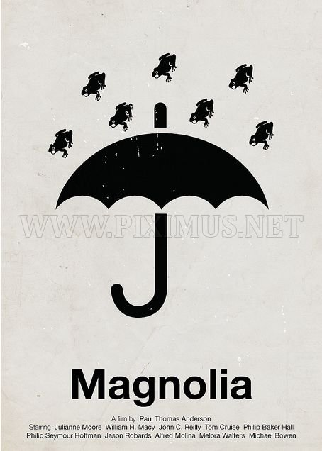 Cool Pictogram Movie Posters