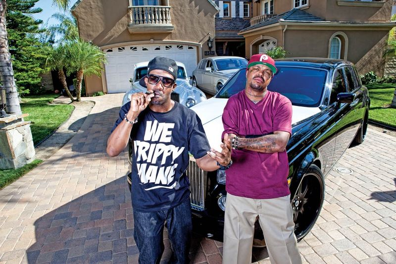 Three 6 Mafia car garage