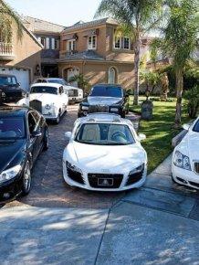 Three 6 Mafia car garage