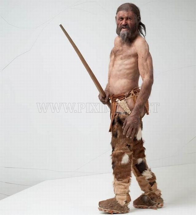 Reconstruction of 5,000 Year Old Iceman