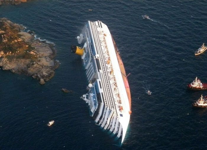 Costa Concordia is a New Tourist Attraction