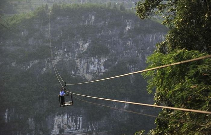 Breathtaking Rope Bridge