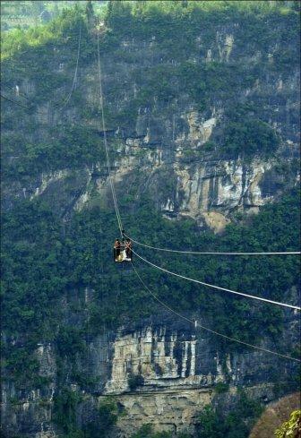 Breathtaking Rope Bridge