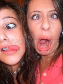 Hot Girls Making Funny Faces