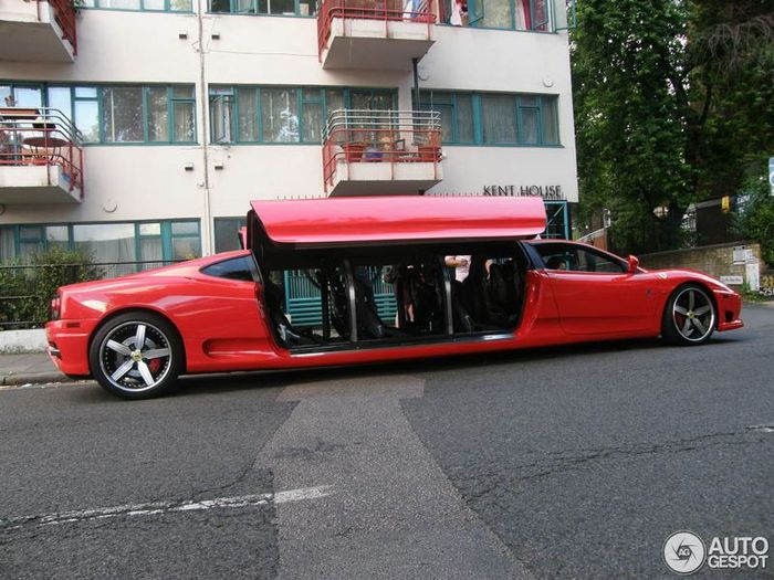 Ferrari 360 Modena Limousine Vehicles