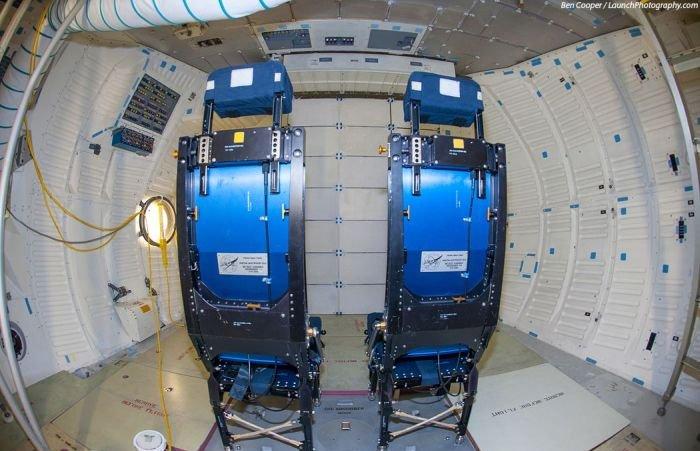 Inside the Shuttles