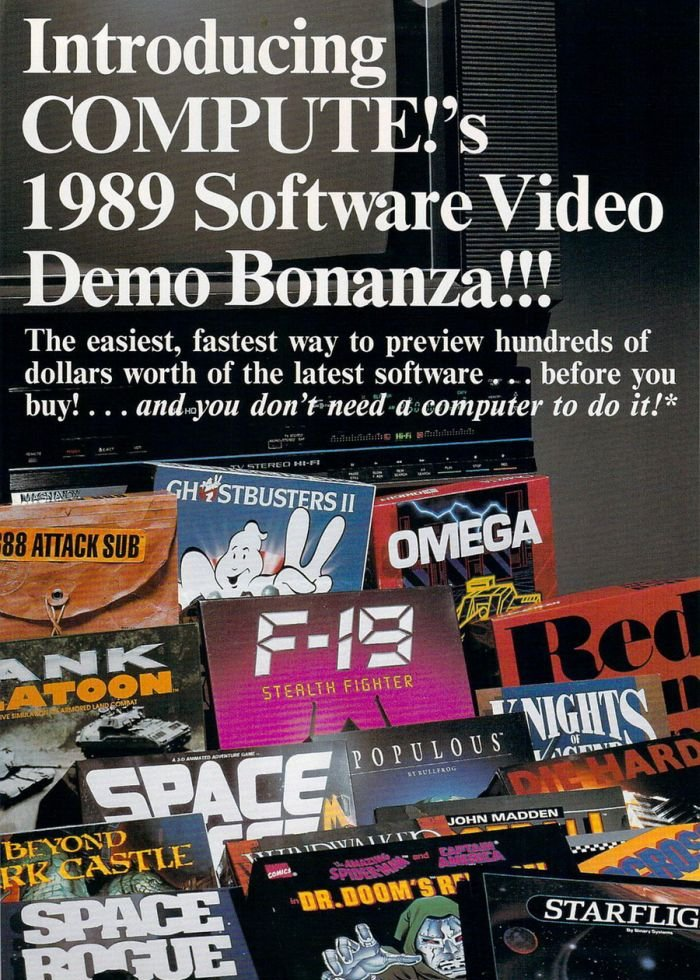 Vintage Video Game Ads