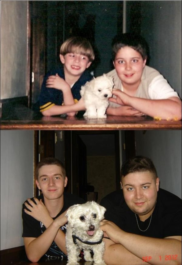 Then and Now, part 2