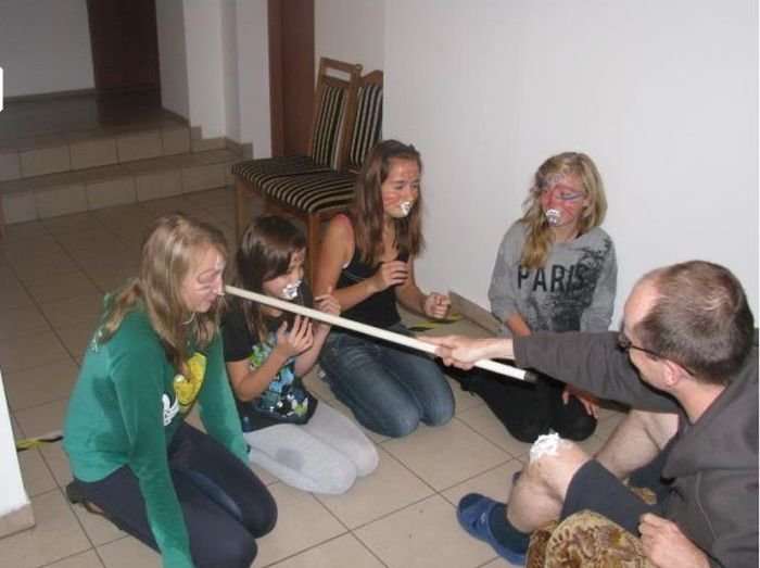 Bizarre Initiation Ceremony at Polish School