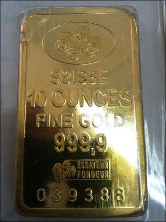 Fake Gold Bullions