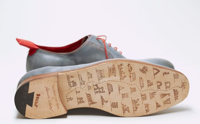 Home GPS Shoes by Dominic Wilcox