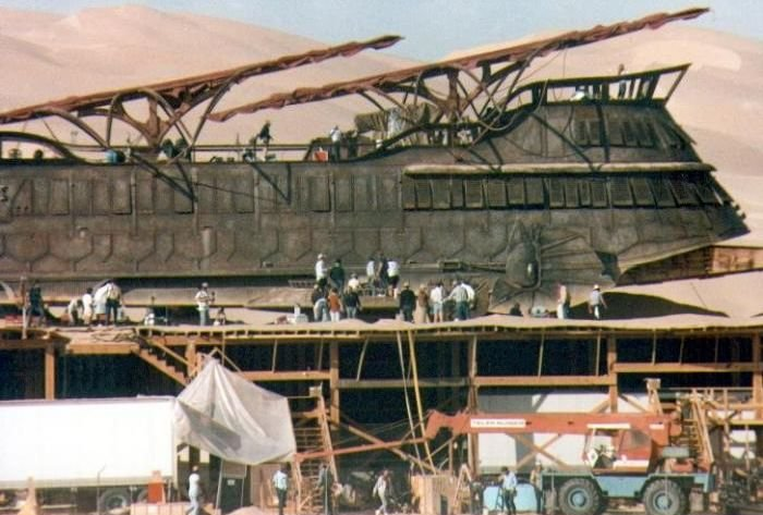 On the Set of the Star Wars