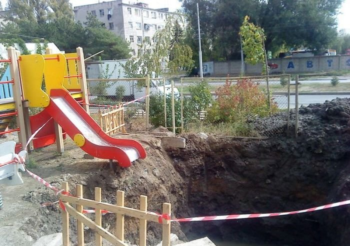 Never Let Your Kids Play on This Playground