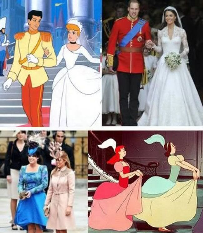 Real Life Doppelgangers of Cartoon Characters