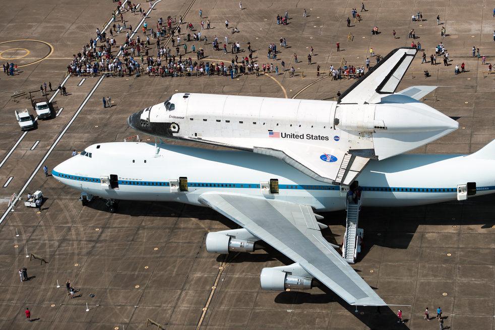 Last flight of shuttle Endeavour