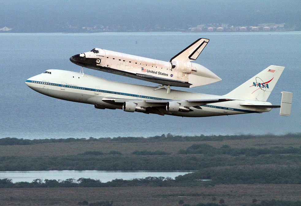 Last flight of shuttle Endeavour
