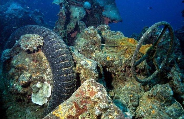Artificial Reefs Vehicles