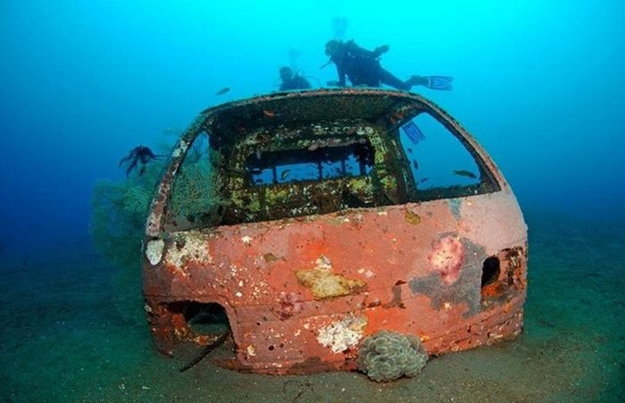 Old Classic Cars >> Artificial Reefs | Vehicles