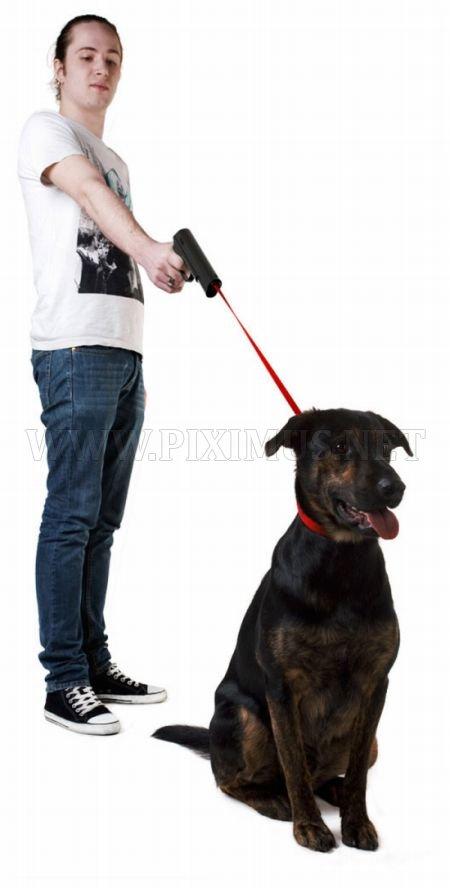 Gun-Leash For Pets