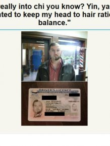 Awkward IDs and Licenses