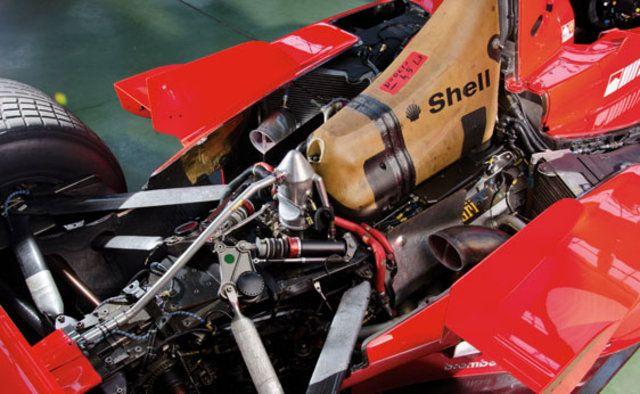 '99 Michael Schumacher's Ferrari on auction