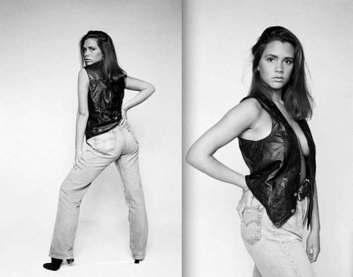 Victoria Beckham at the Age of 18, part 18