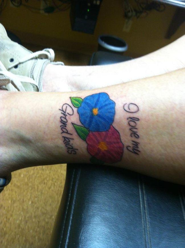 Grandma's First Tattoo at 83, part 83