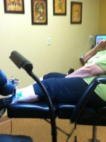 Grandma's First Tattoo at 83