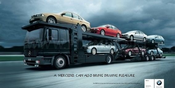 Advertising war automobile brands