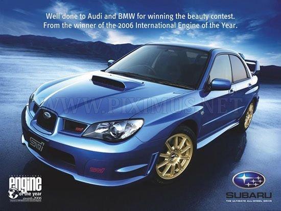 Advertising war automobile brands