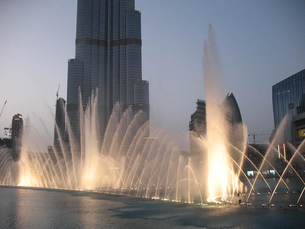 Fountains in Dubai