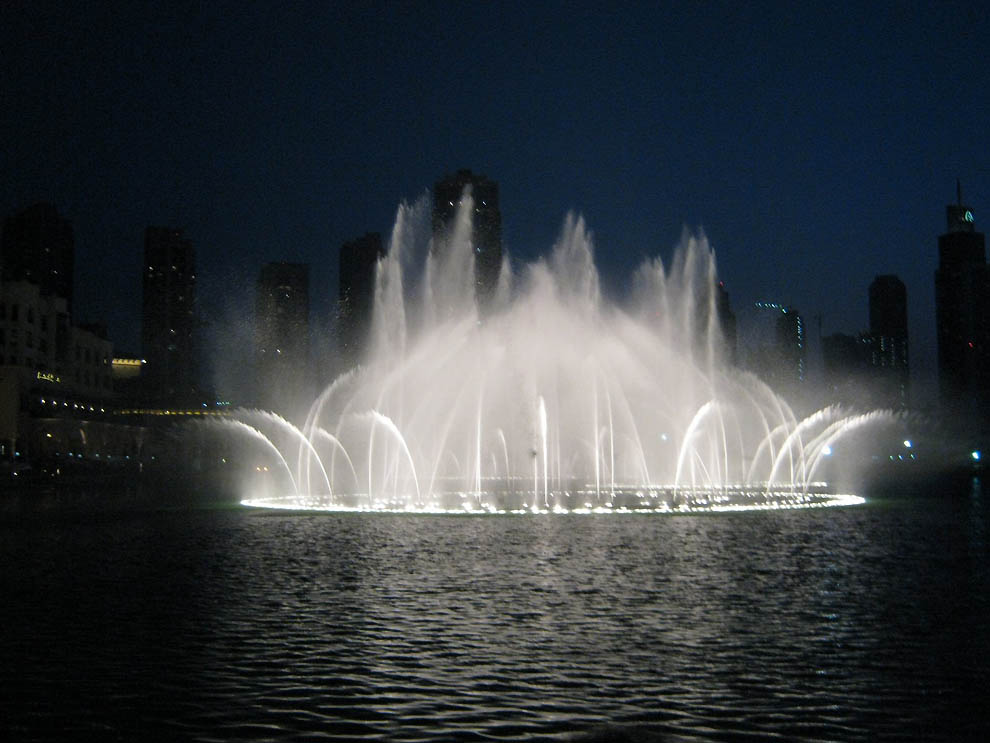 Fountains in Dubai