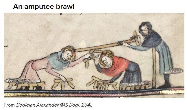 Bizarre Medieval Illustrations
