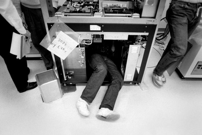 The Early Photos of Apple, Microsoft and Adobe
