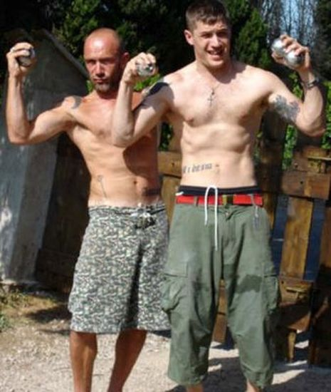 Tom Hardy's Old Myspace Profile Images